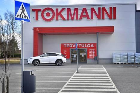 Tokmannin myymälä Laitilassa.