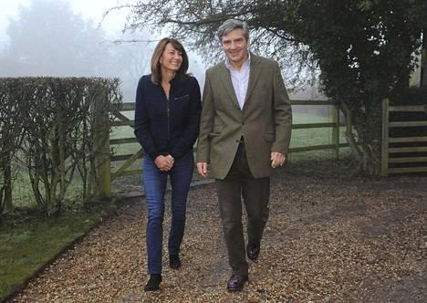 Carole ja Michael Middleton ovat pysyneet poissa julkisuuden valokeilasta – tähän asti.