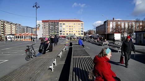 Tammelan tori Tampereella on yksi kaupungin tunnetuimmista paikoista.