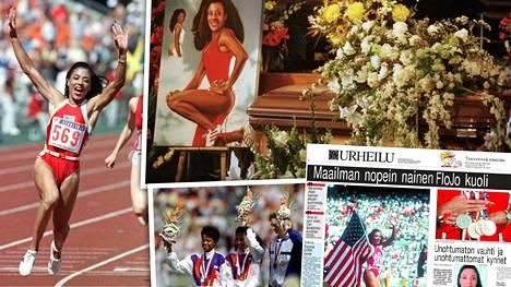 Florence Griffith-Joyner häikäisi lähes päivälleen 30 vuotta sitten Soulin olympialaisissa. Perjantaina tuli puolestaan kuluneeksi tasan 20 vuotta hänen kuolemastaan.