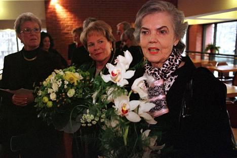 Hymy Lahtinen kuvattuna vuonna 2000.