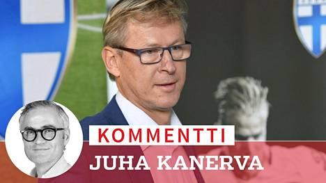 Markku Kanerva valmensi aiemmin alle 21-vuotiaiden maajoukkuetta.