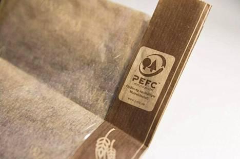 Lidlin paperipussit on valmistettu PEFC-sertifioidusta paperista.