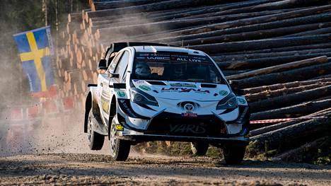 Jari-Matti Latvalan kilpailu Ruotsissa päättyi kovaan pettymykseen.