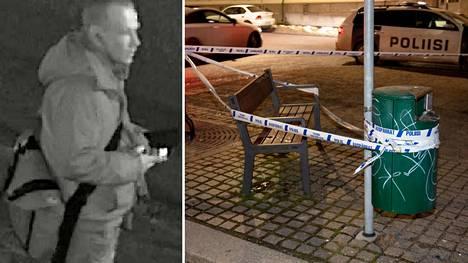 Poliisi kaipaa havaintoja kuvassa olevasta miehestä. Häntä epäillään Turun Tuureporinkadulla tapahtuneesta tapon yrityksestä.