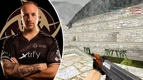 Emil Christensenin suoritus Aztec-kartassa on painautunut monen vanhan Counter-Strike 1.6 -pelaajan mieleen.