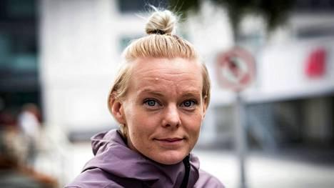 Hanna-Maari Päkkin kilpaura on ohi.