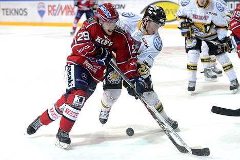 Toni Leinonen pelasi neljä kautta HIFK:ssa, mutta vuodet eivät taanneet paikkaa pääsarjasta loppu-uralle.