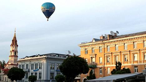 Vilna on harvoja pääkaupunkeja, joiden yläpuolella voi lentää kuumailmapallolla.