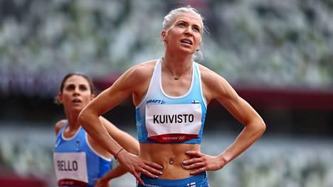 Sara Kuiviston huikea Suomen ennätys ei riittänyt olympiafinaaliin.