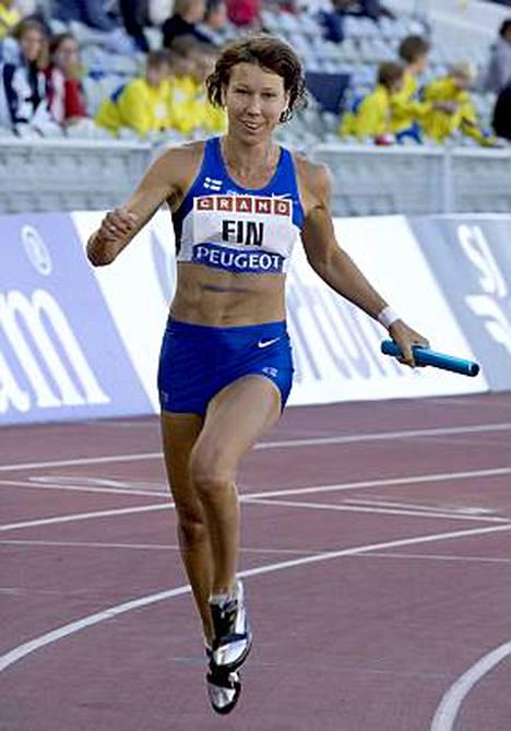 Johanna Manninen urakoi upealla tuloksella Ruotsi-ottelussa. Hän saalisti kolmesta lajista halutut kolme voittoa.