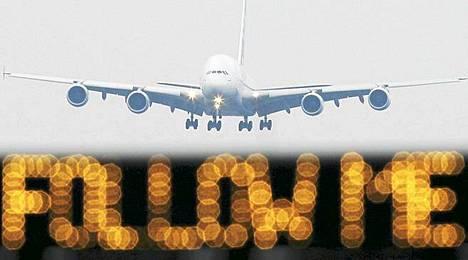 Frankfurtin lennonjohtajat lakkoilevat torstaina ja perjantaina
