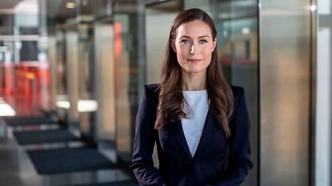 Pääministeri Sanna Marin on saanut ensimmäisen koronarokoteannoksen.