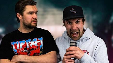 Siim Liivik ja Ilmari Pitkänen tekevät omaa Jargoni-podcastiaan.