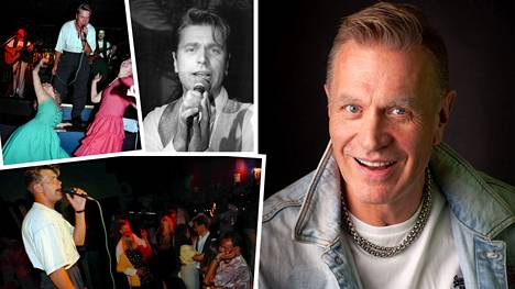 Tauski Peltonen on elättänyt itsensä ja perheensä laulamalla jo 35 vuotta.