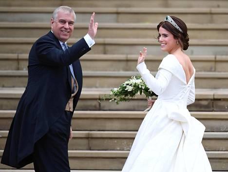 Andrew'n tytär, prinsessa Eugenie meni naimisiin lokakuussa.