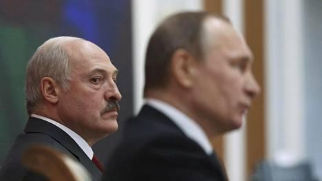 Aleksandr Lukashenkon johtaman Valko-Venäjän ja Vladimir Putinin Venäjän suhteet ovat viilentyneet merkittävästi.