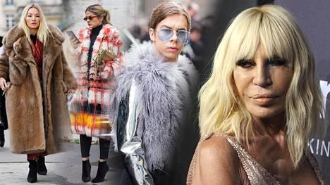 Donatella Versace on viimeisin muodin suurnimi, joka irtisanoutui aidon karvan käyttämisestä luomuksissaan.