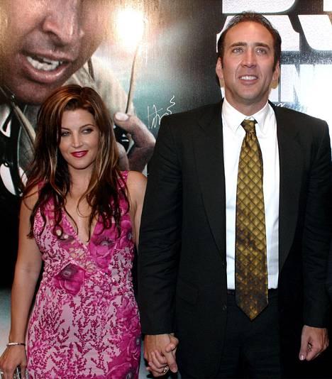 Lisa Marie Presley on yksi Nicolas Cagen suurista rakkauksista.