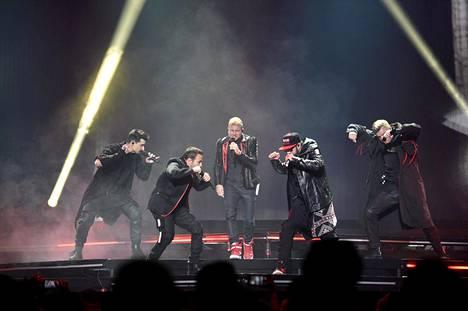 Backstreet Boysin suosio on kestänyt 26 vuotta.