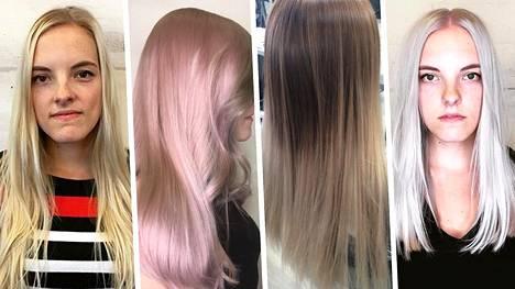 Annika, 26, antaa kampaajalle vapaat kädet ja saa värin ja leikkauksen ilmaiseksi – katso, millaisia hiuksia hiusmallina voi saada!