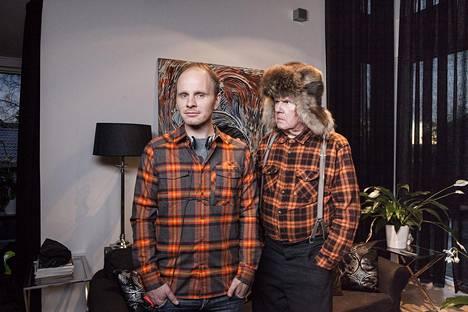 Dome Karukosken ohjaama ensimmäinen Mielensäpahoittaja-elokuva kiinnosti myös Hollywoodissa. Siinä pääosaa näytteli Antti Litja (oik.).