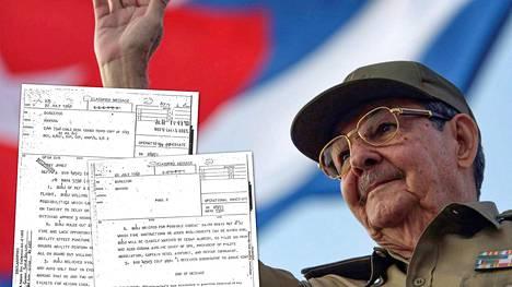 Kuuban presidenttinä tuolloin palvellut Raúl Castro vuonna 2008.