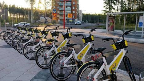 Vantaalla kaupunkipyörät eivät ole saavuttaneet Helsingin ja Espoon kaltaista suosiota.