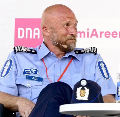 Poliisihallituksen poliisitarkastaja Måns Enqvist.