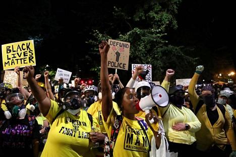 Demetria Hester on toiminut roolimallina monelle äidille, jotka ovat liittyneet mielenosoituksiin.