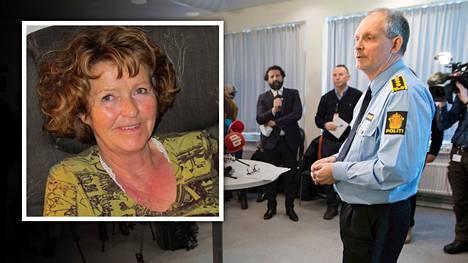 Norjan poliisi piti tiedotustilaisuuden Anne-Elisabeth Falkevik Hagenin katoamisesta. Poliisitarkastaja Tommy Brøske kertoo tutkinnan vaiheista.