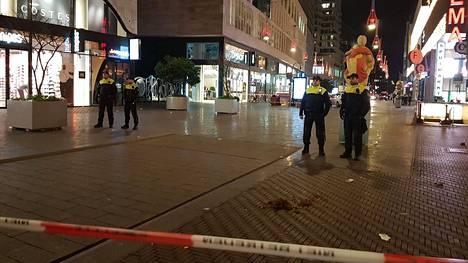 Haagissa tapahtui puukkohyökkäys.