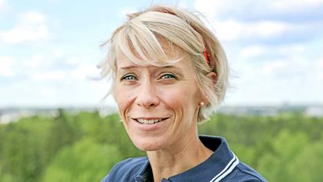 Anne-Mari Hyryläinen edustaa Suomea ensi kertaa arvokisoissa.