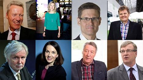 Kansanedustajat tulevat eri ammattitaustoista, ja kymmenet kansanedustajat ovat tehneet muutakin kuin yhtä työtä.