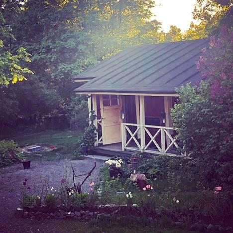 Kaurilan sauna Helsingissä tarjoaa intiimiä tunnelmaa.