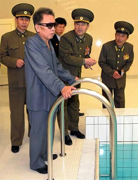 Tuorein Kim Jong Ilista julkistettu kuva on maaliskuulta.