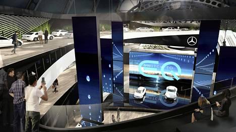Myös Mercedes-Benz alkaa sähköistyä entistä enemmän.