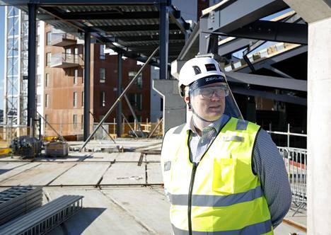 Uros Liven toimitusjohtaja Marko Hurme on kiertänyt maailmalla hakemassa vaikutteita Tampereen tulevaan areenaan.
