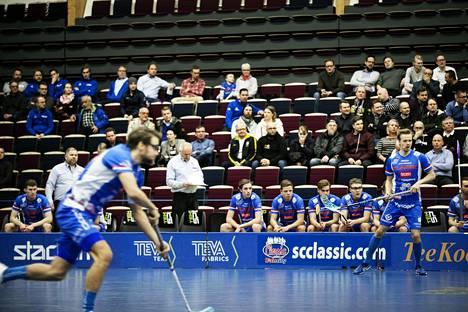 Tältä näyttää nykyään Classicin miesten liigaottelussa Tampere Areenalla.