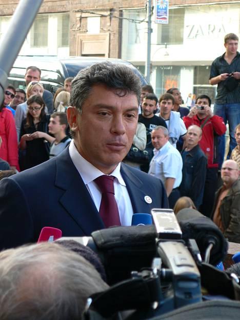 Parnasin kuuluisin edustaja oli helmikuussa Kremlin edustalle murhattu oppositiojohtaja Boris Nemtsov.