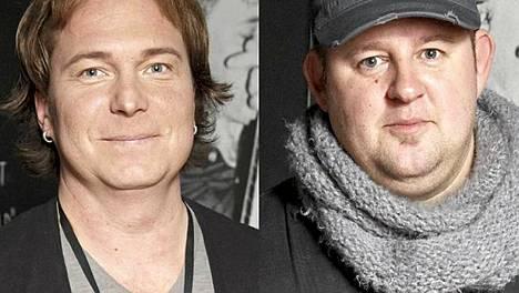 Aki Louhela ja Kim Koskinen kisaavat Voice of Finlandissa.