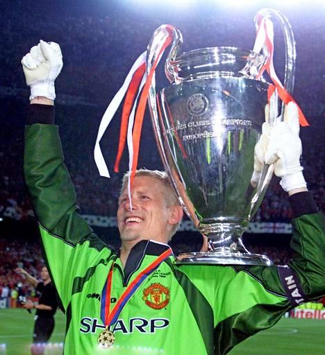 Peter Schmeichel on Manchester Unitedin seuralegendoja.