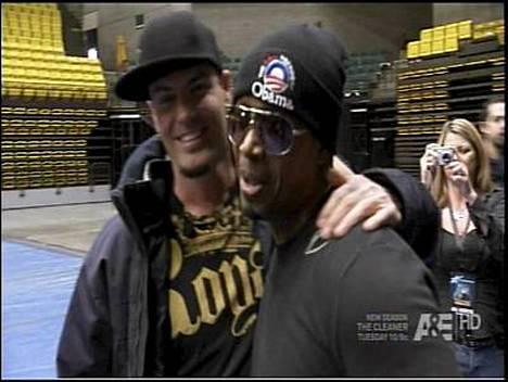 MC Hammer ja Vanilla Ice tapasivat pitkästä aikaa. Miesten mielestä taika oli edelleen tallella.