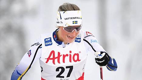 Frida Karlsson ei pysty hiihtämään Salpausselän kisoissa.