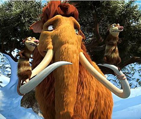 Ice Age 3 -elokuva pyörii sekä 2D- että 3D-versioina.