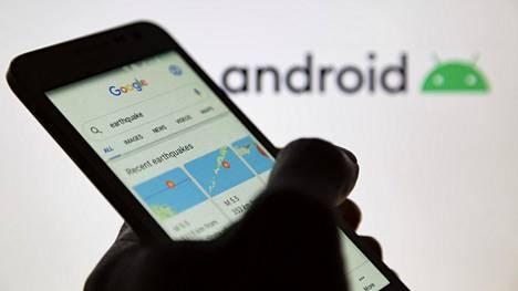 Googlen puhelimien tunnistamien maanjäristysten on tarkoitus näkyä Googlen karttapalveluissa.