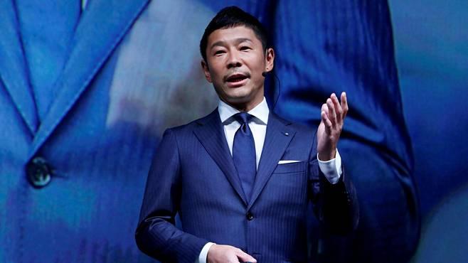 Yusaku Maezawa on Zozon toimitusjohtaja.