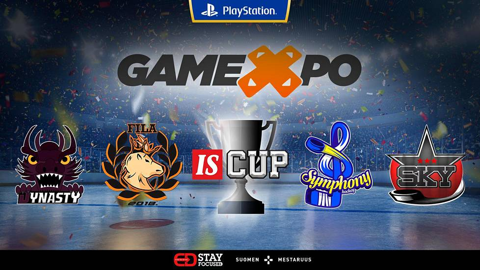 IS Cup 3 NHL 6vs6 SM-turnaus päättyy GameXpoon. Mestaruudesta pelaavat Dynasty, FILADELPHIA, Symphony ja Written In The Stars.