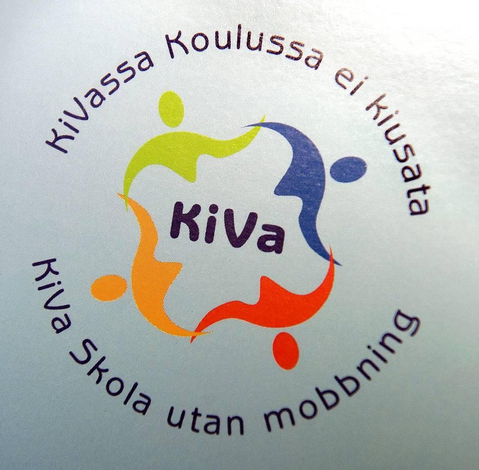 KiVa-koulu-ohjelman tunnus.