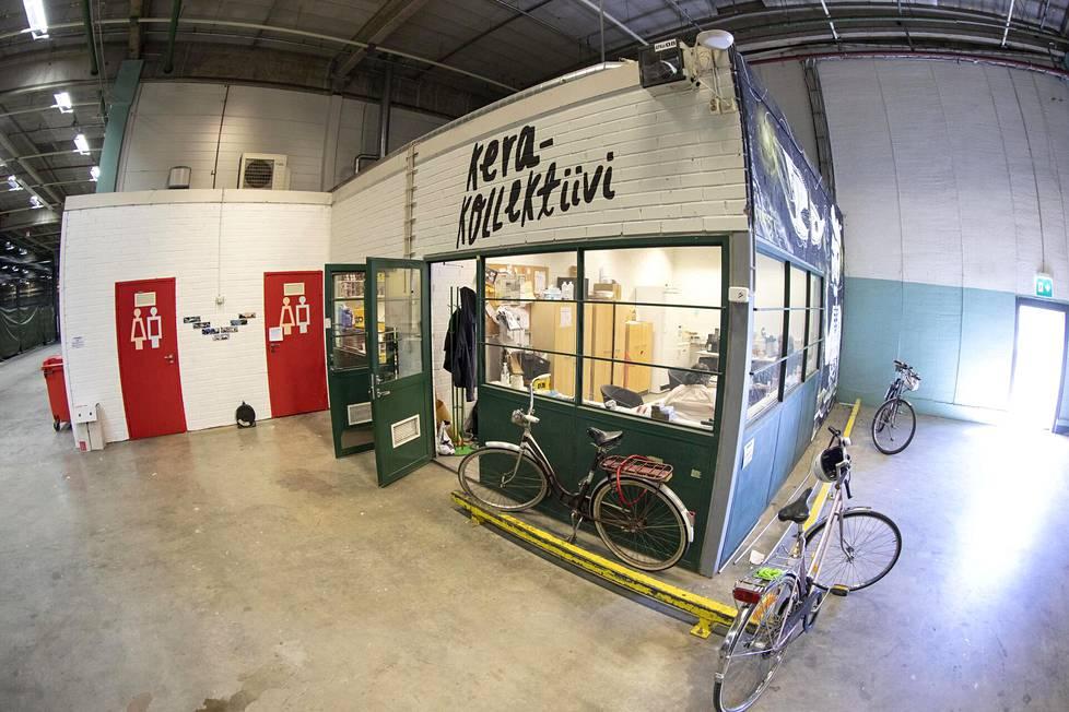 Espoon Keraan on varastohalleihin syntynyt liikunnan, taiteen ja oluen kaupunkikeidas.